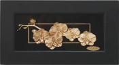 Tranh hoa đào vàng lá 24k - KS13BS-SSN0814-02