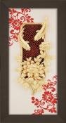 Tranh vàng lá cá chép hoa cúc - SSN1326_14