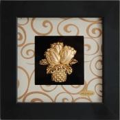 tranh giỏ hoa vàng lá 24k - KS13W-SSN1313-02