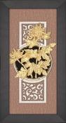 Tranh vàng lá 24K - hoa cúc - SSN1326-04