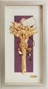 Bó hoa vàng lá 24k - KS13P-SSN1326-05