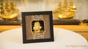 Tranh Vàng Lá 24K - Thuận Buồm Xuôi Gió
