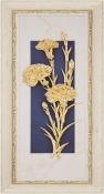 Tranh vàng lá 24K - hoa cẩm chướng - SSN1840_03