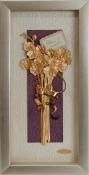 Bó hoa vàng lá 24k - KS13P-SSN1326-04