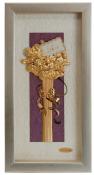 Bó hoa vàng lá 24k - KS13P-SSN1326-01