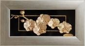Tranh hoa đào vàng lá 24k - KS13BS-SSN0814-01